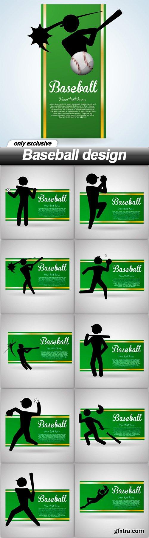 Baseball design - 20 EPS