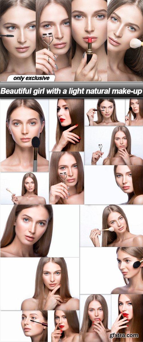 Beautiful girl with a light natural make-up - 17 UHQ JPEG