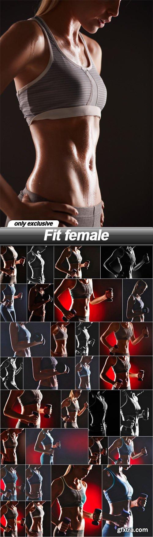 Fit female - 30 UHQ JPEG
