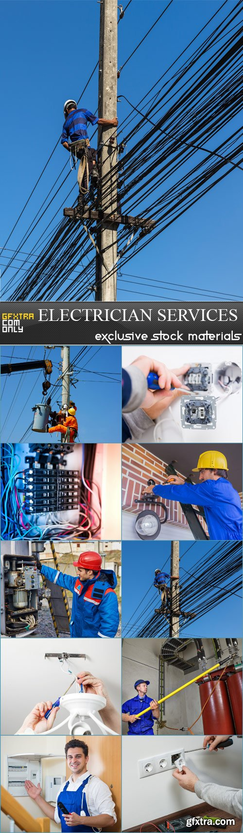 Electrician services - 10 JPRGs