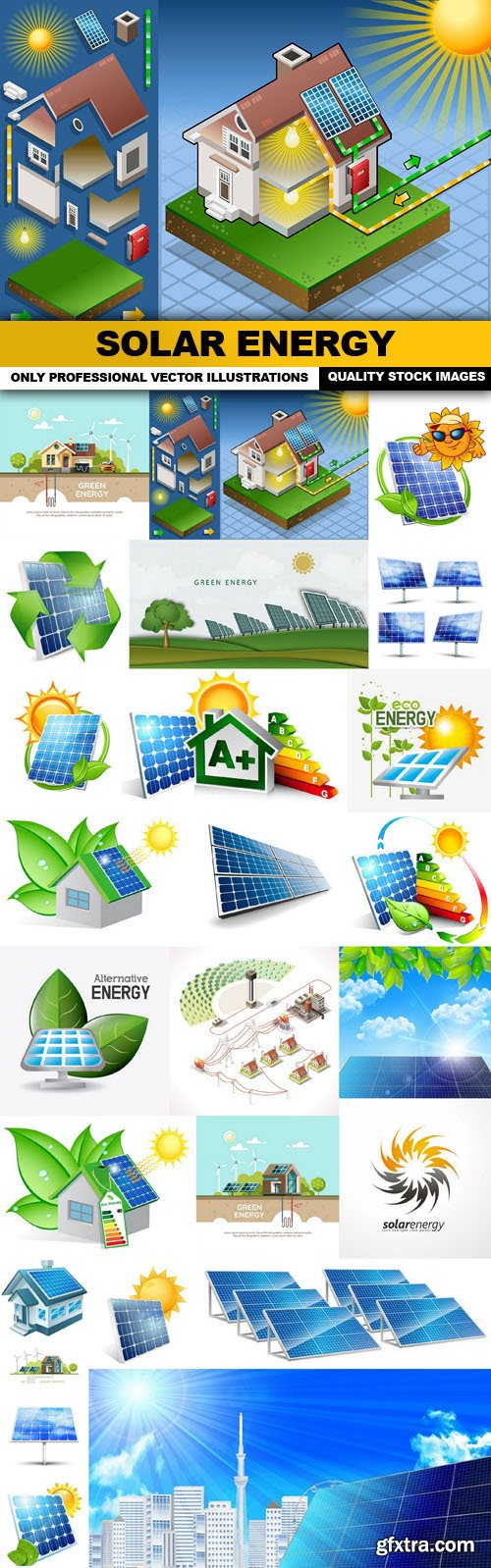 Solar Energy - 25 Vector