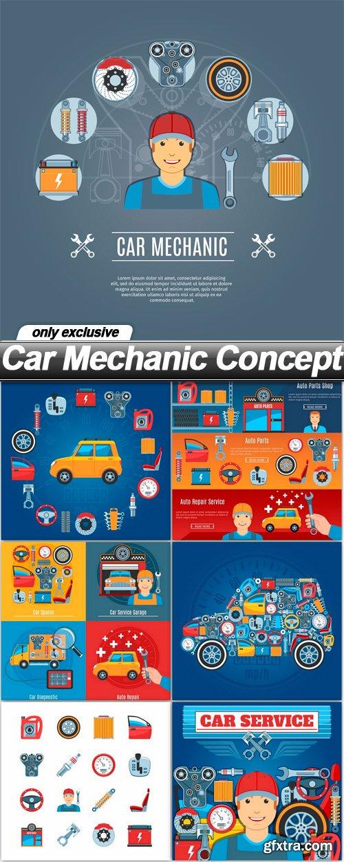 Car Mechanic Concept - 7 EPS