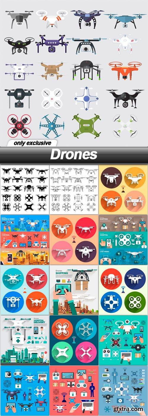 Drones - 16 EPS