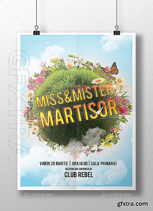 Spring Poster Template 5431