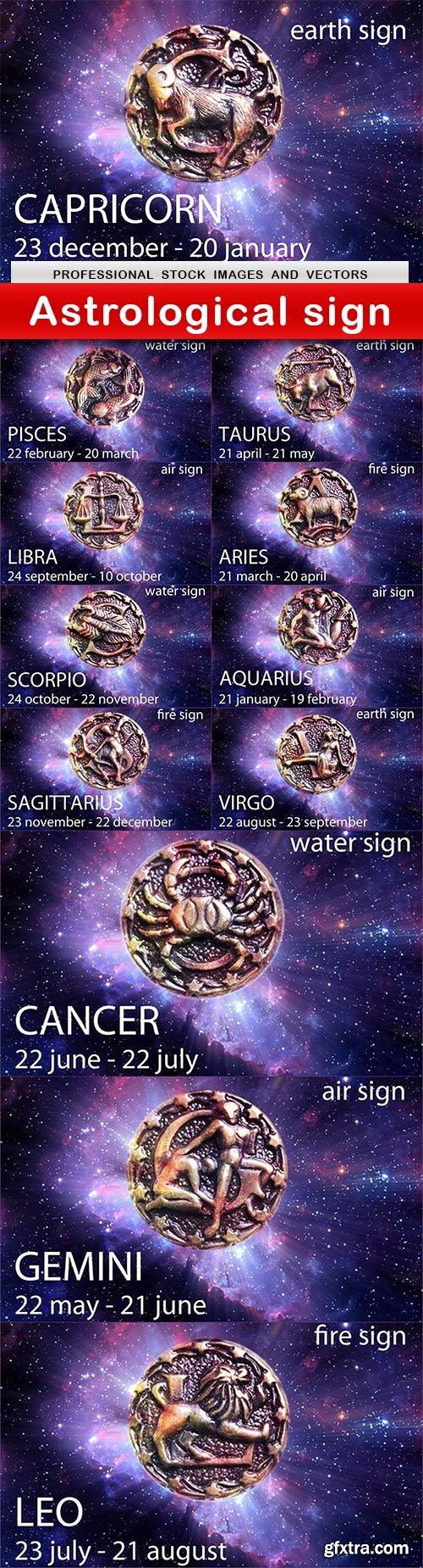 Astrological sign - 12 UHQ JPEG