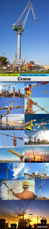 Crane, 15 x UHQ JPEG