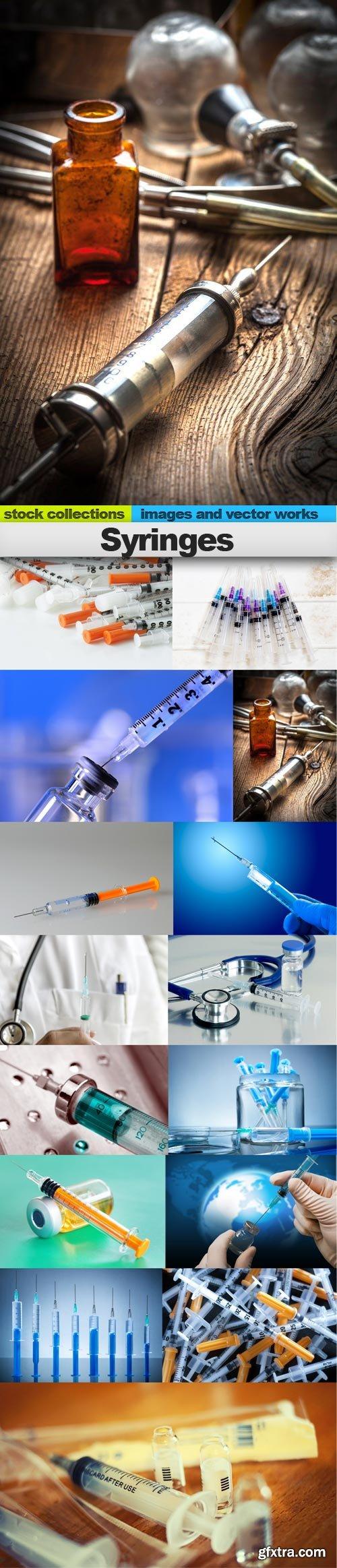 Syringes, 15 x UHQ JPEG