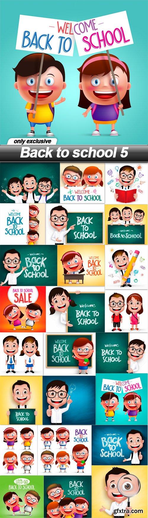Back to school 5 - 24 EPS
