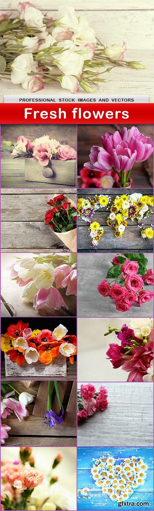 Fresh flowers - 13 UHQ JPEG
