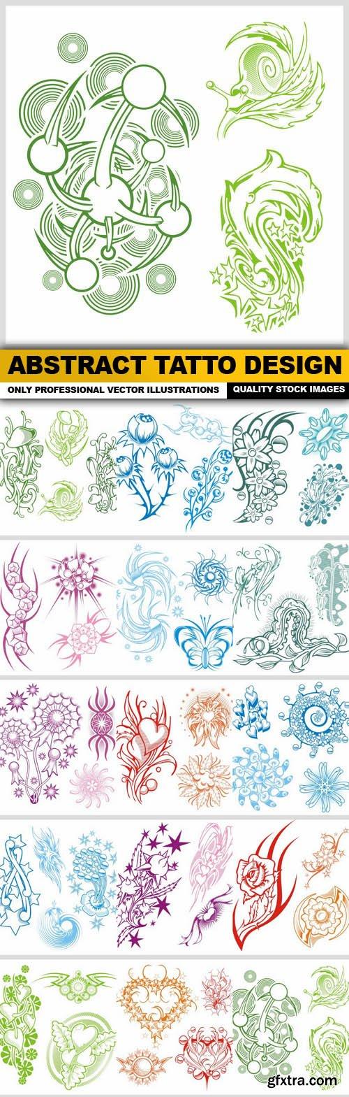 Abstract Tatto Design - 15 Vector