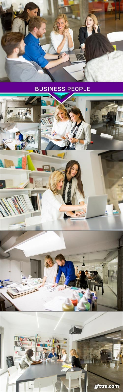 Business people 7x JPEG
