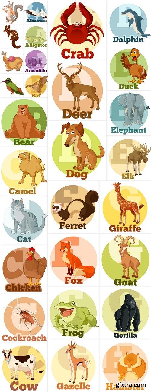 Animals vector 2
