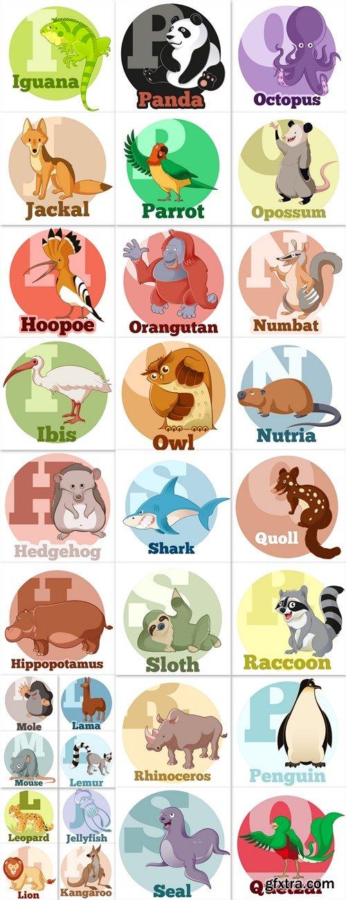 Animals vector 3