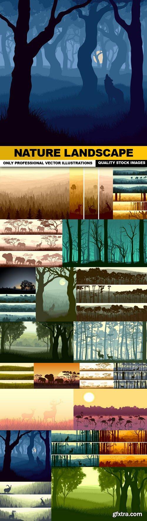 Nature Landscape - 25 Vector