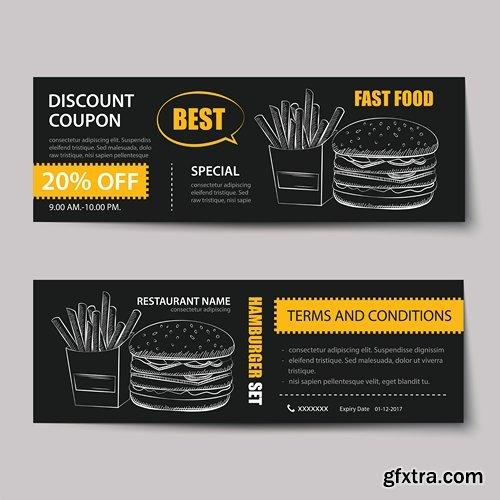 Bakery voucher discount template design » Vector, Photoshop PSDAfter ...