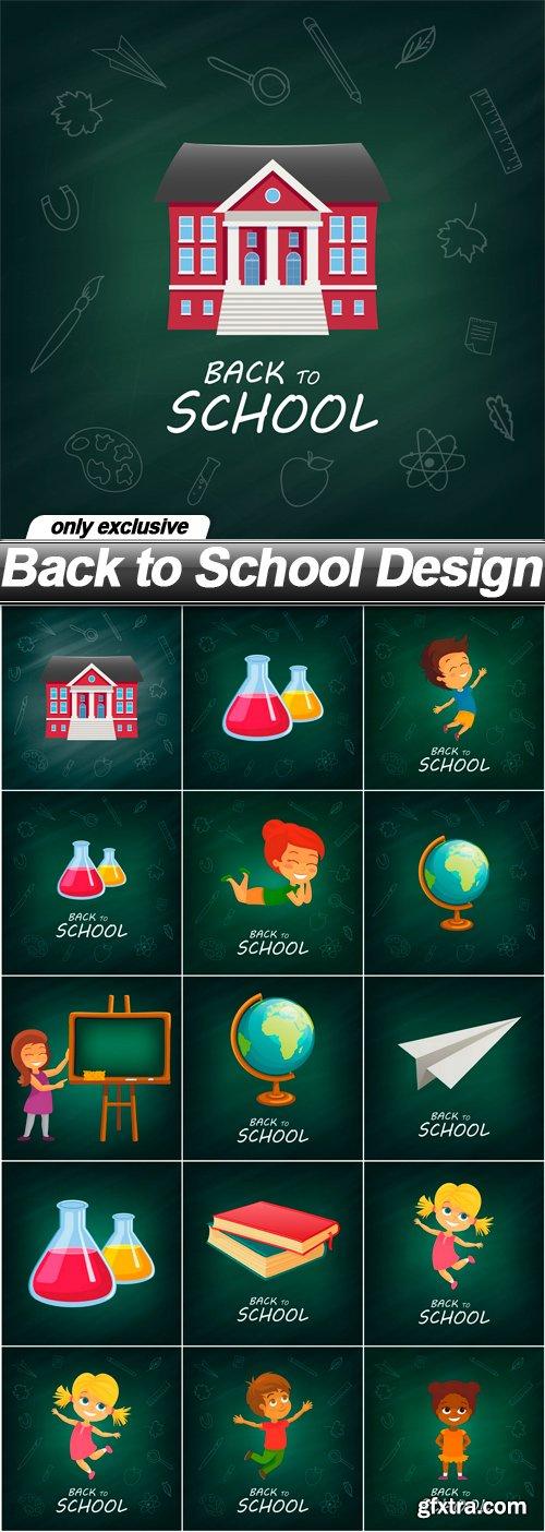 Back to School Design - 16 EPS