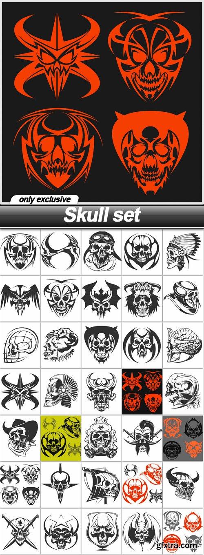 Skull set - 35 EPS