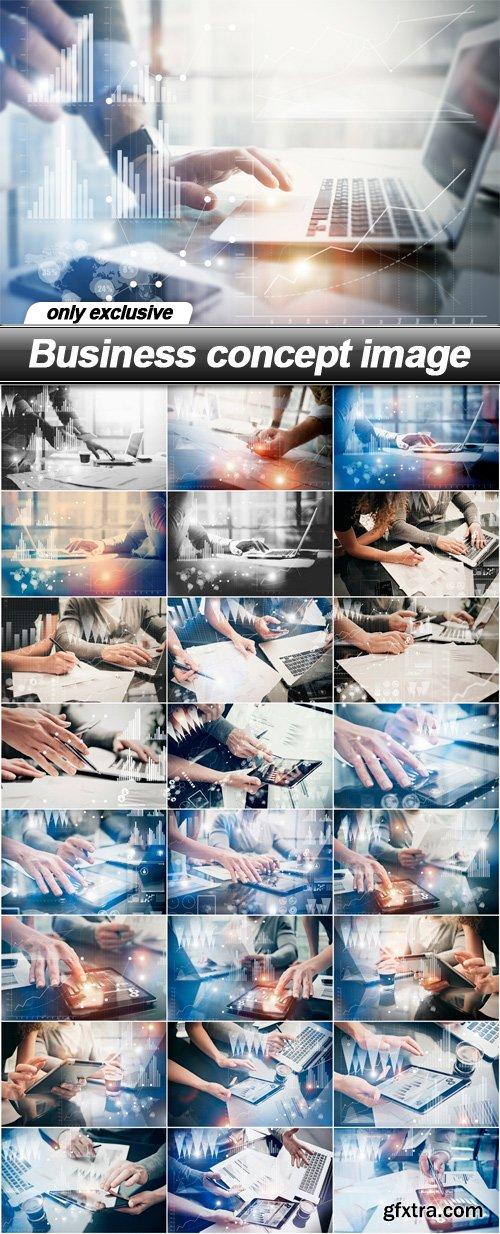 Business concept image - 25 UHQ JPEG