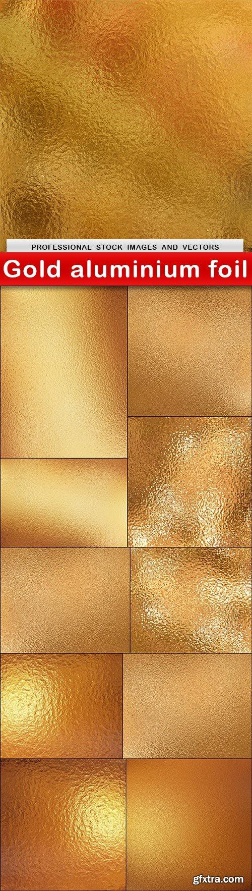 Gold aluminium foil - 11 UHQ JPEG
