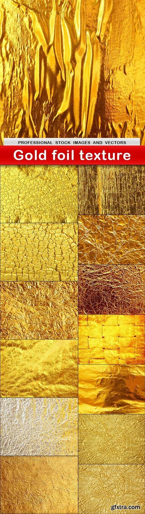 Gold foil texture - 14 UHQ JPEG
