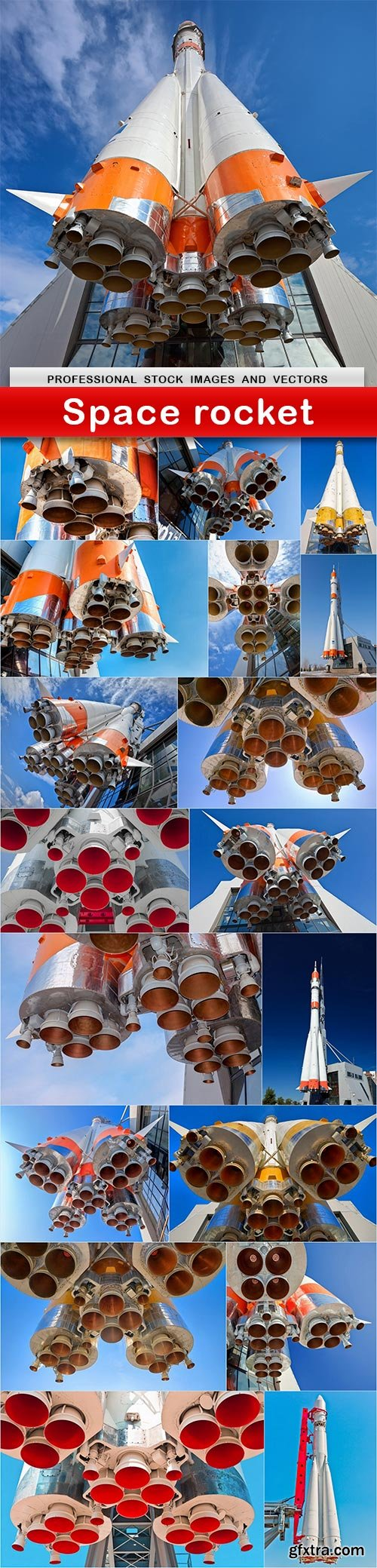 Space rocket - 19 UHQ JPEG