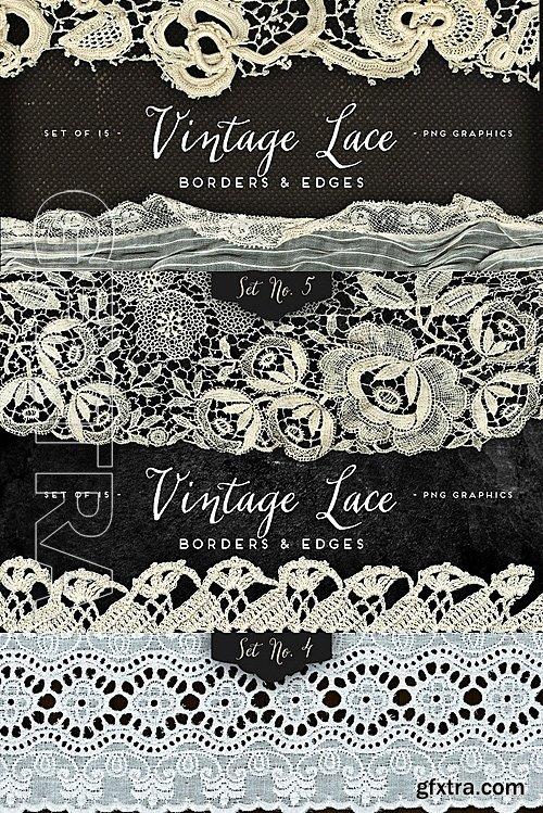 CM - Lace & Textile Mega Bundle 728069