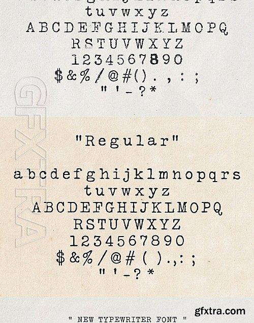 CM - Silk Remington font 727076