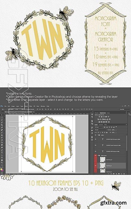 CM - Monogram Creator & Font 731440