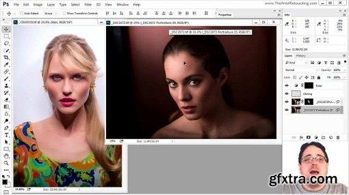 Photoshop Basic for Photographers - Portrait Retouching