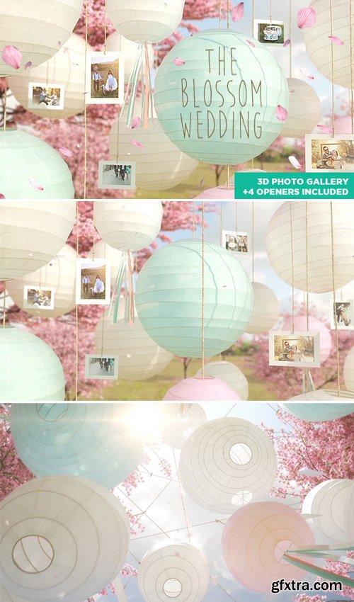 Videohive - The Blossom Wedding - Photo Gallery Slideshow - 14669458