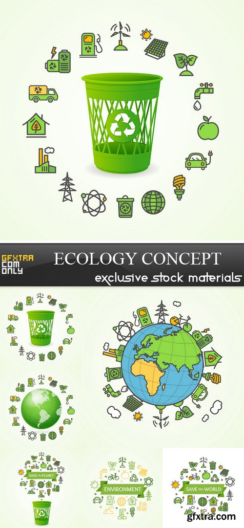 Ecology Concept - 6 EPS