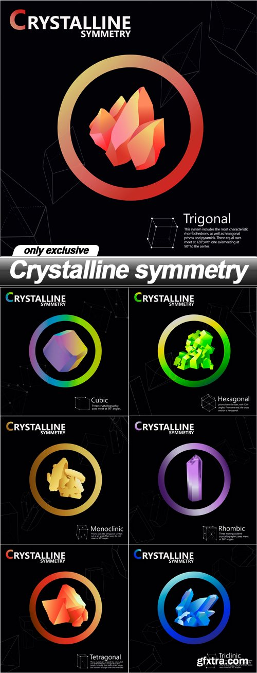 Crystalline symmetry - 7 EPS