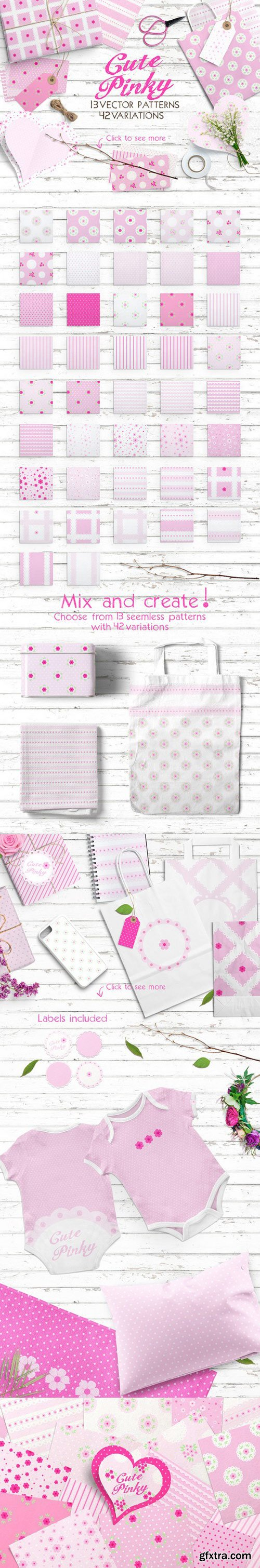 CM - Cute Pinky Patterns Pack 735441