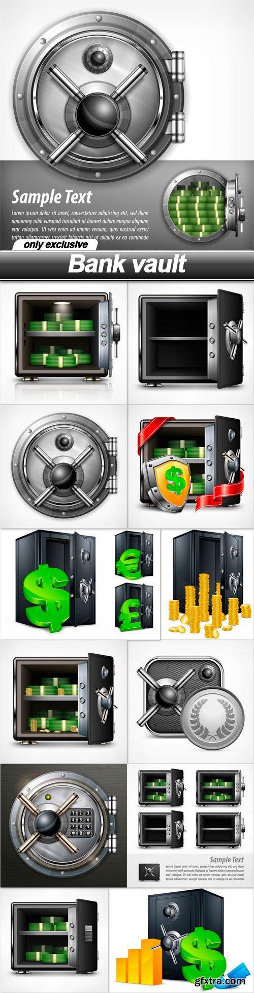 Bank vault - 13 EPS