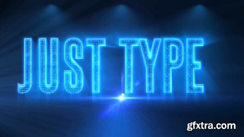 Videohive Alphabet 3D Neon LED - Abc And Social Media Icons 7608121