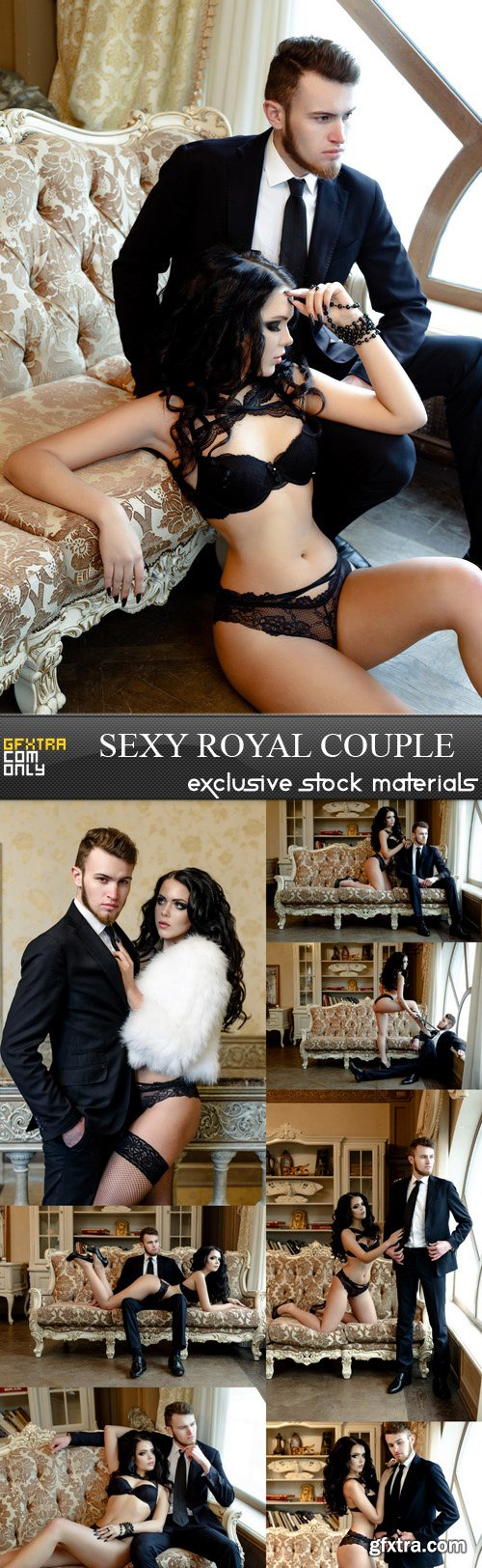 Sexy Royal Couple - 8 UHQ JPEG