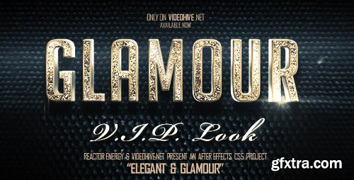 Videohive Elegant And Glamour Titles 3027340
