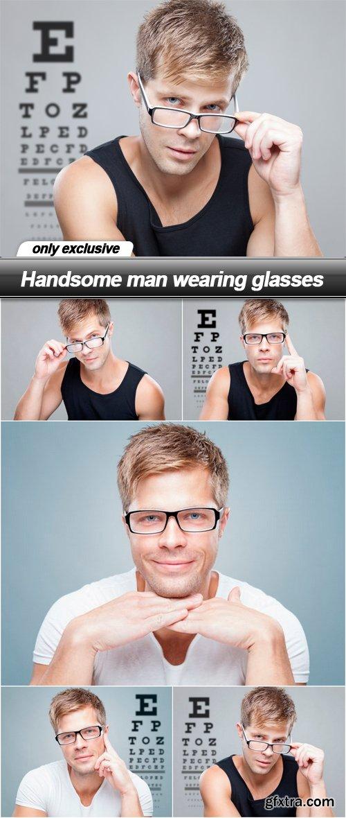 Handsome man wearing glasses - 5 UHQ JPEG