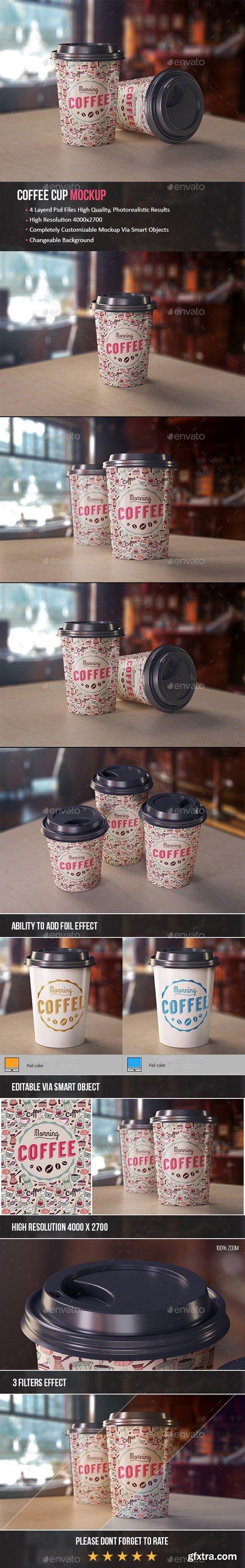 GraphicRiver - Coffee Cup Mockup