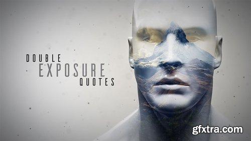 Videohive Double Exposure Quotes 14433634