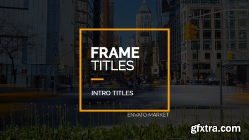 Videohive Frame Titles 16533663