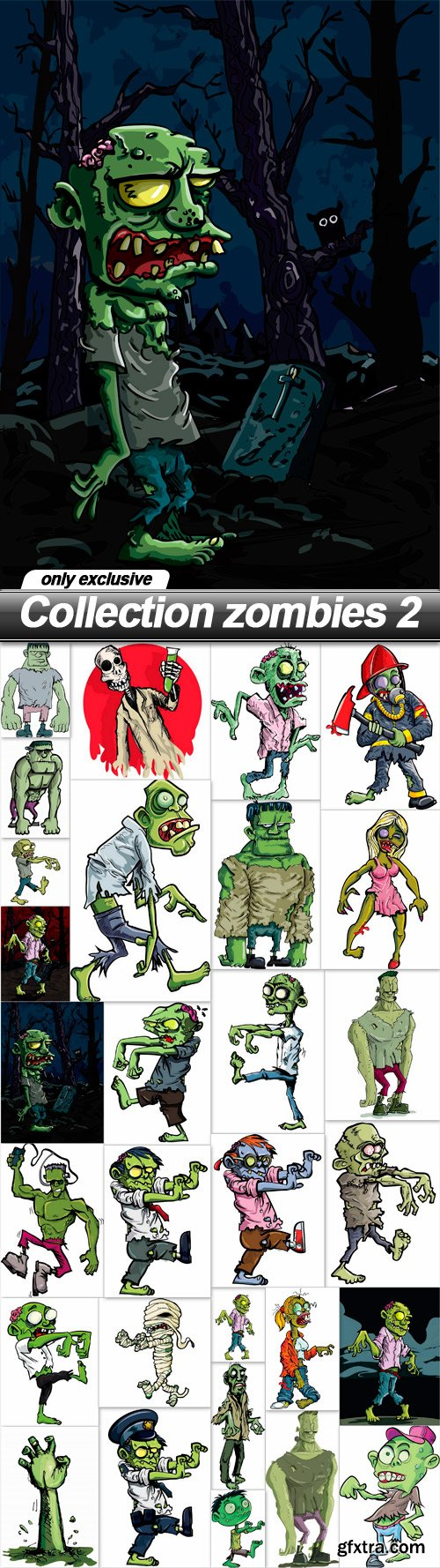 Collection zombies 2 - 29 EPS