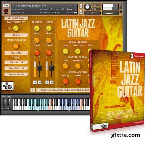 In Session Audio Latin Jazz Guitar and Direct MULTiFORMAT-FANTASTiC