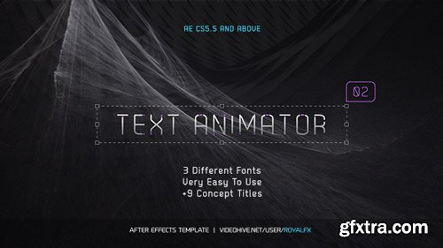 Videohive - Text Animator 02: Stylish Clean Titles - 16716059