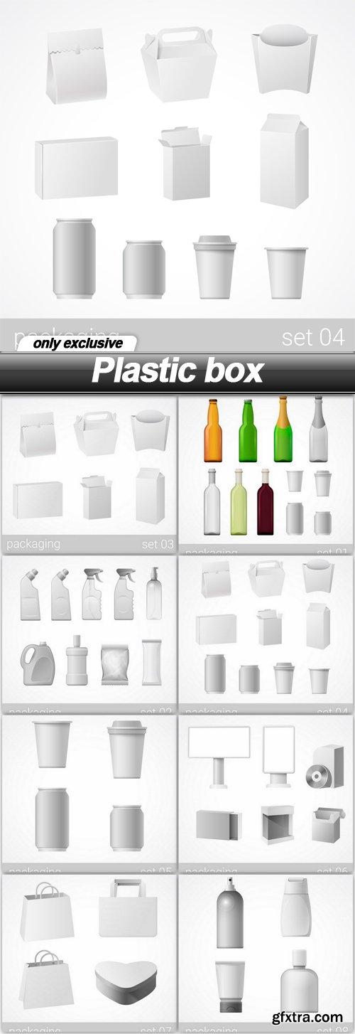 Plastic box - 8 EPS