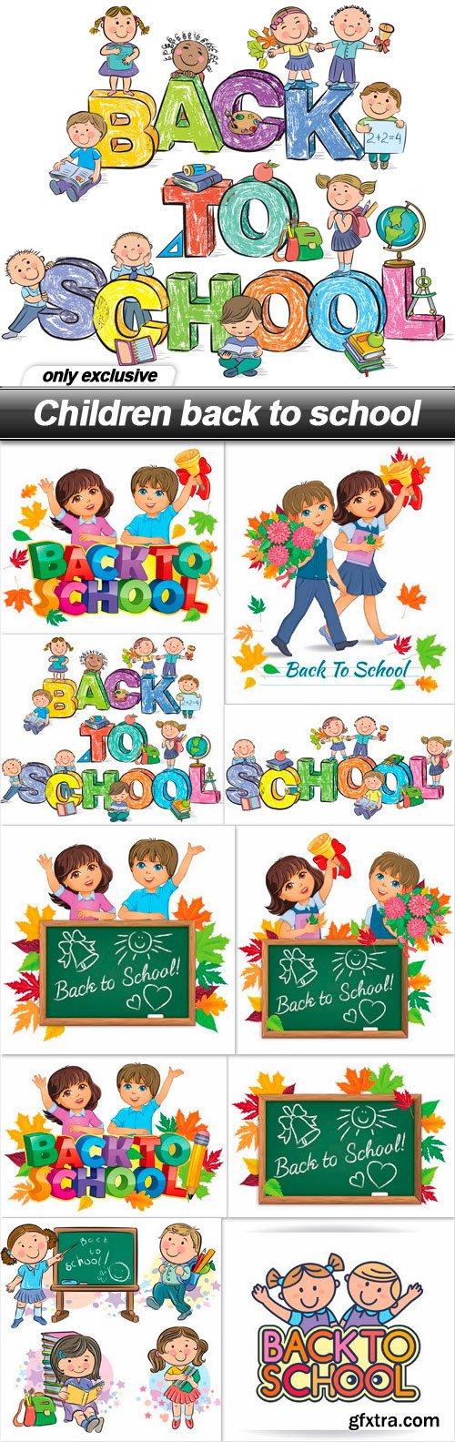 Children back to school - 10 EPS