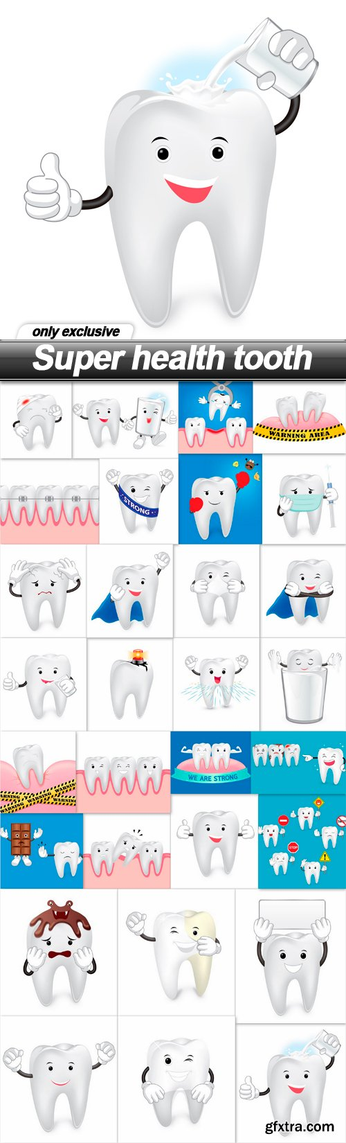 Super health tooth - 30 EPS