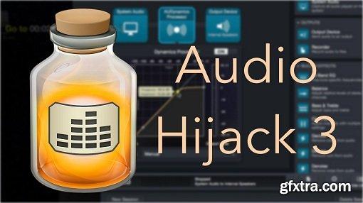 Rogue Amoeba Audio Hijack 3.7.0 macOS
