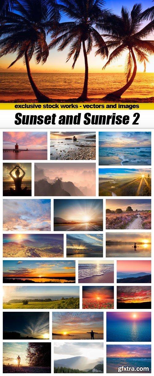 Sunset and Sunrise 2 - 25xUHQ JPEG