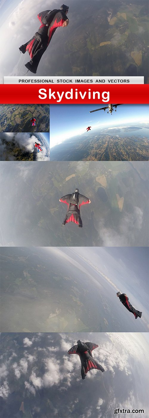 Skydiving - 7 UHQ JPEG